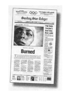 Star Ledger Front Page