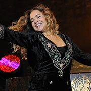 Brazilian Singer Daniela Mercury performs at UN Headquarters.